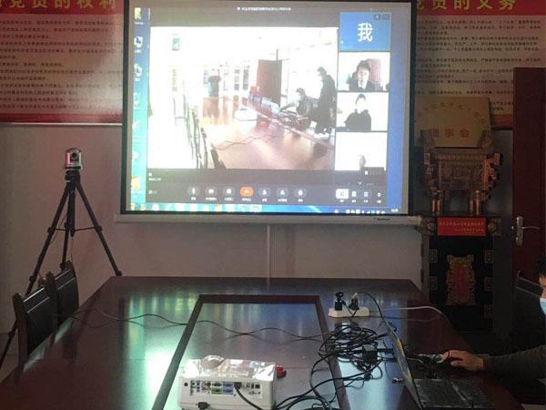投影仪十视频会议摄像机十全向麦克风方案