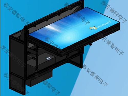 超薄前维护DLP拼接显示墙大屏幕